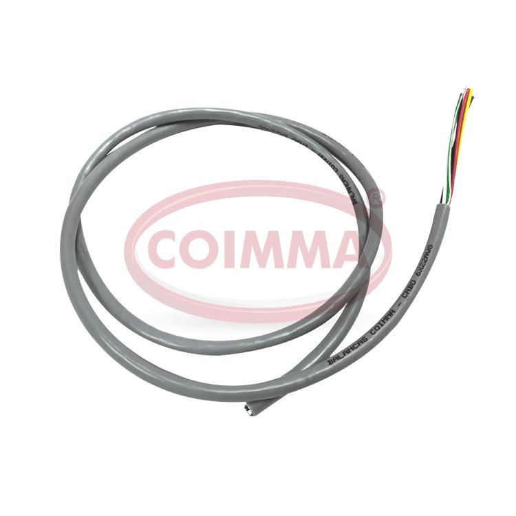 CABO ECCA 675-25 AZC (6VIAS) P/M